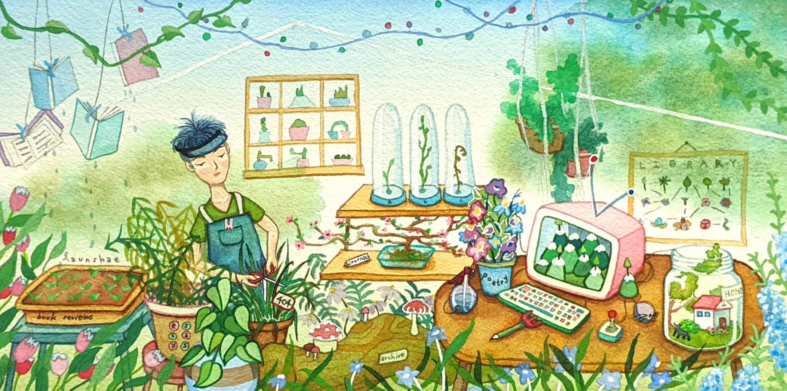 Winnie Lim's garden