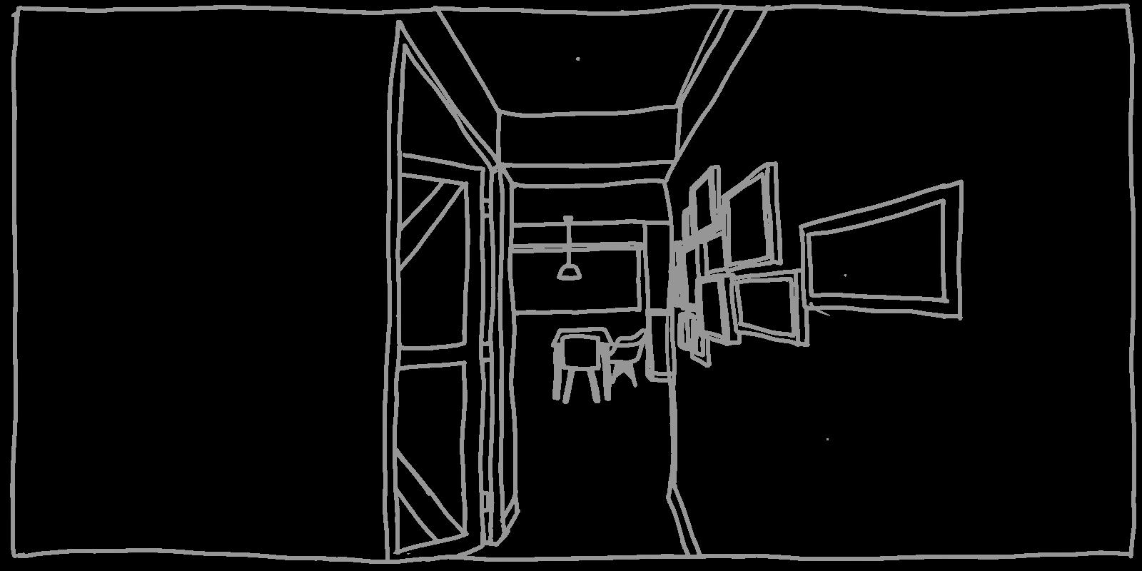 illustration of passageway